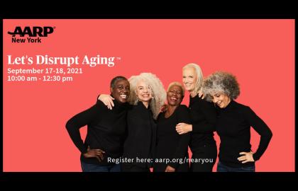 Let's Disrupt Aging™ Women's Empowerment Virtual Event!