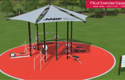 AARP-Sponsored Fitness Park Opens in Bismarck