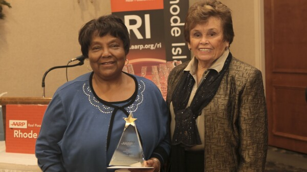 Verteal Patterson, RI 2015 Andrsus Award Winner
