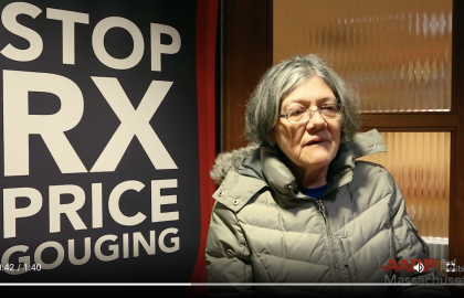 Watch: Horror Stories of Drug Costs from Massachusetts Residents