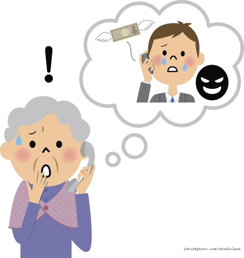 Grandparent Scam Graphic