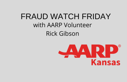 Keep Up-to-Date on Current Scams through our Fraud Watch Fridays