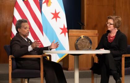 Thousands Watch Chicago Mayor, AARP on Facebook Live