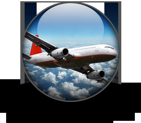 Round Circle Airplane