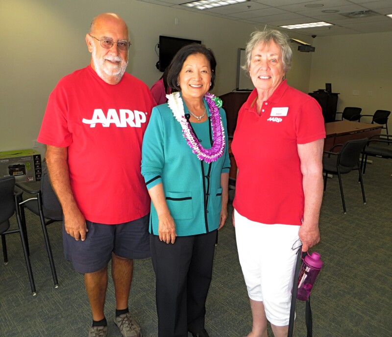 Volunteer with Senator Mazie Hirono