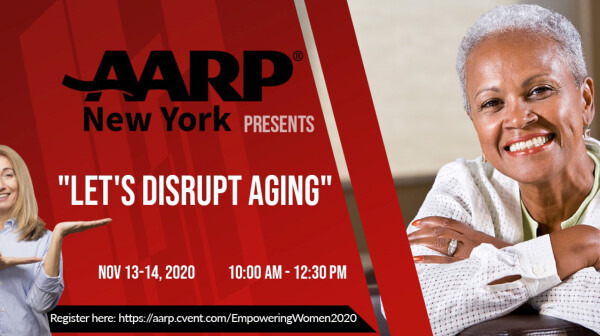 "AARPNY Presents ""Let's Disrupt Aging"""
