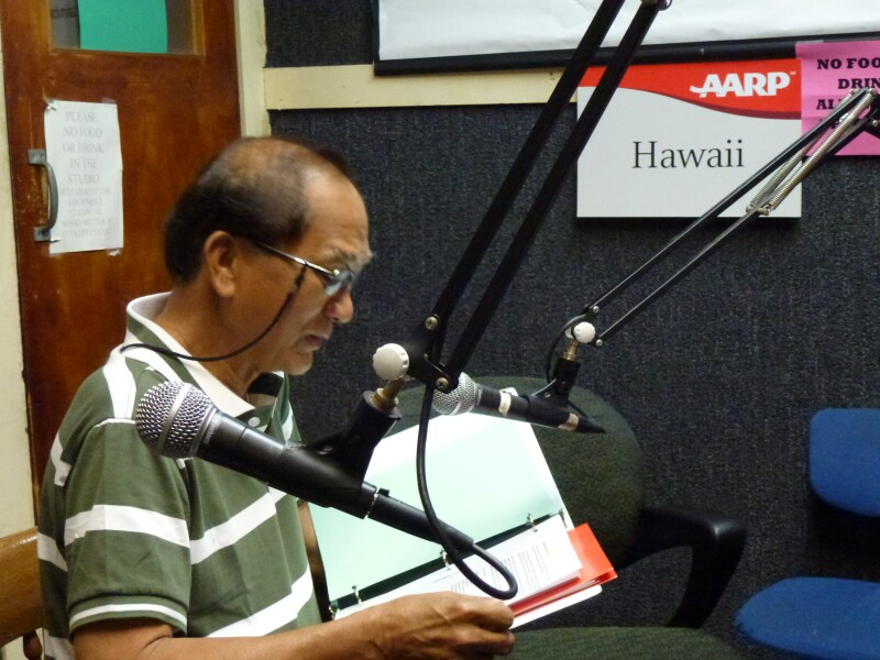 AARP's Toy Arre at KNDI Radio