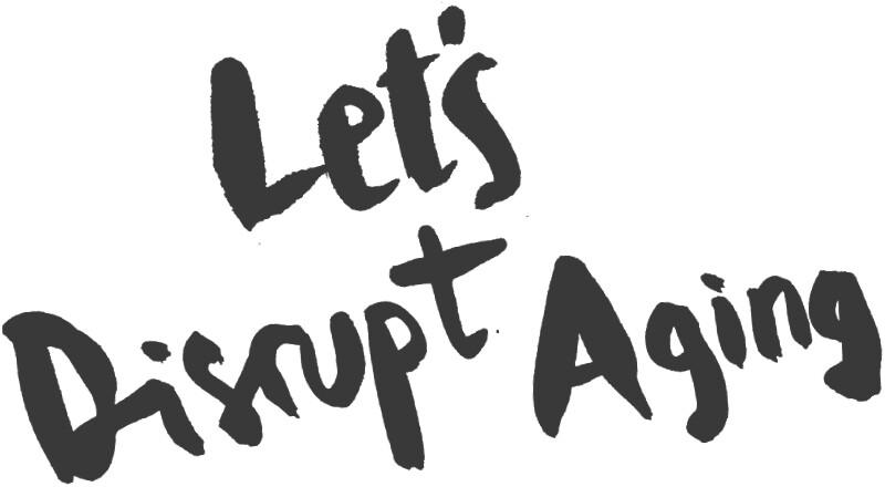 Disrupt aging logo