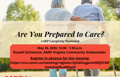 Virtual Community Conversations: AARP Caregiving Workshop