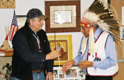 Statement on passing of Chief Earl Old Person by Alex Ward, State President, AARP Montana