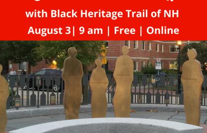 Coffee & Conversation: Black Heritage Trail of NH