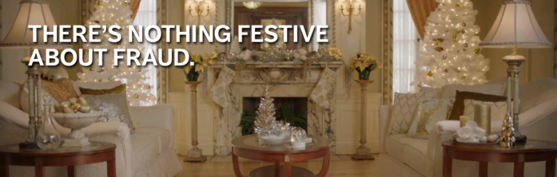 There's nothing festive about fraud