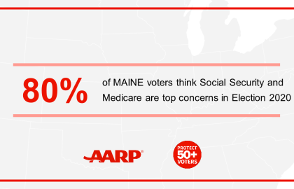 New AARP Maine Poll: 65-plus Voters May Tip the Scales in 2020