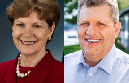 Jeanne Shaheen and Bryant