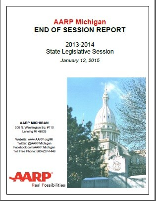 Legislative End of Session report cover