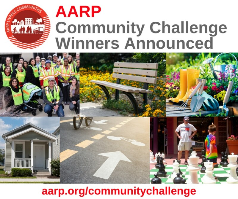 aarp livable challenge winners announced facebook