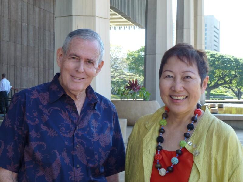 Gerry and Barbara at Capitol