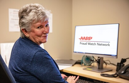 What is the AARP Fraud Watch Network?