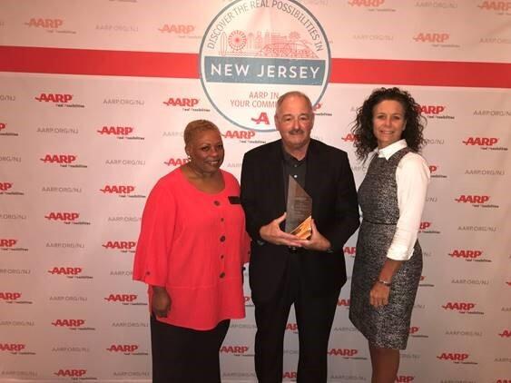 AARP NJ Honors Andrus Award Recipient