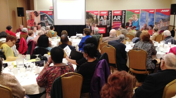 May 13-14 AARP Arkansas Advocates briefing