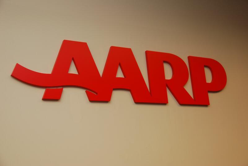 AARP Wall Logo