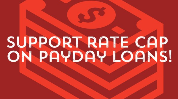 Payday loan rate cap