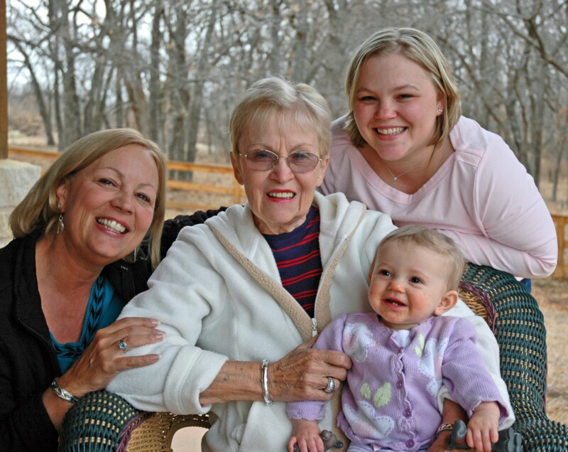 Four Generations Outside