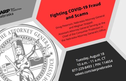 Fraud Tele-Town Hall with Nebraska Attorney General Aug. 18