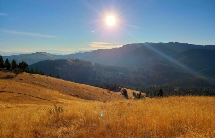 Hiking Adventures with Shannon & Ridley: Mt. Helena