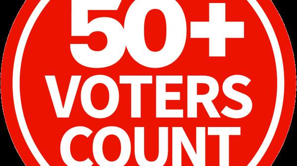 50 Plus Voters Count