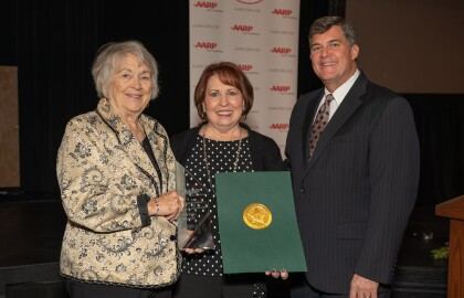 AARP Honors 2019 Andrus Award Recipient and Recognizes Volunteers' Outstanding Community Service
