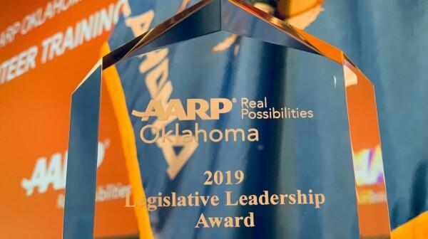 Leg award photo