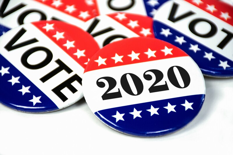 election voting pins for 2020