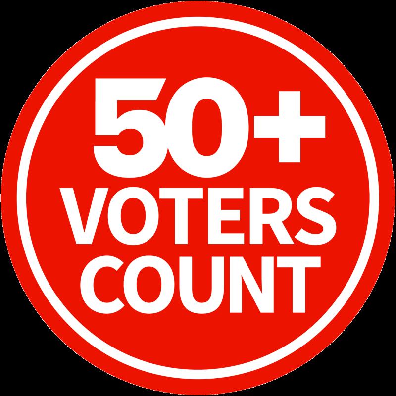 AARP 50+ Voters Count