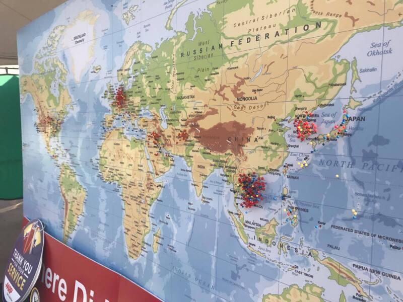 Full vet map