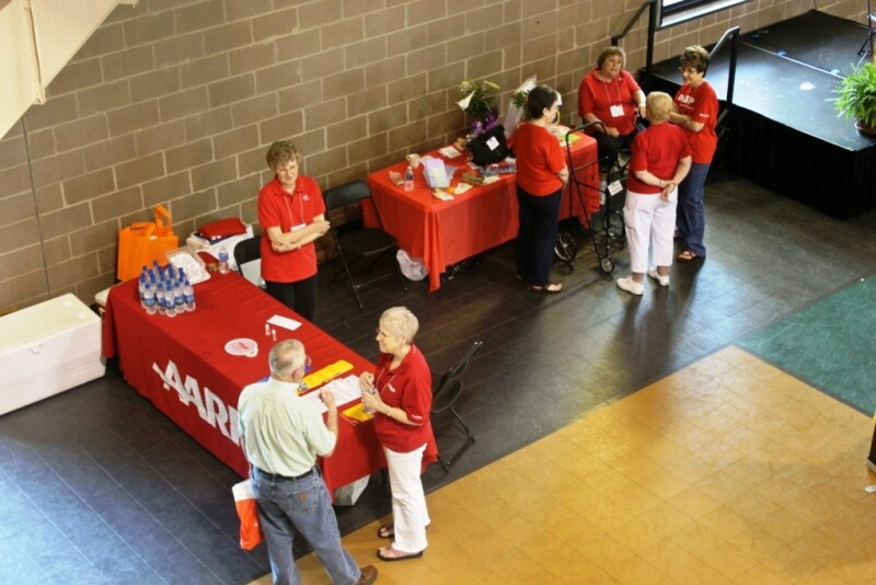 Maumelle Chapter 5359 at their community health fair