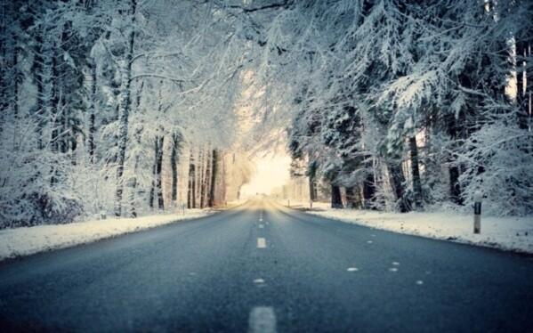 Winter driving pix