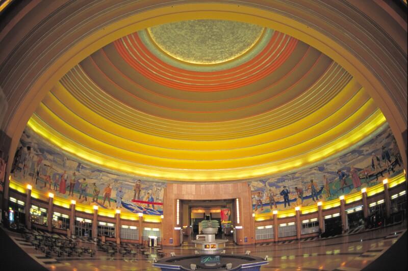Cincinnati Museum Center rotunda interior