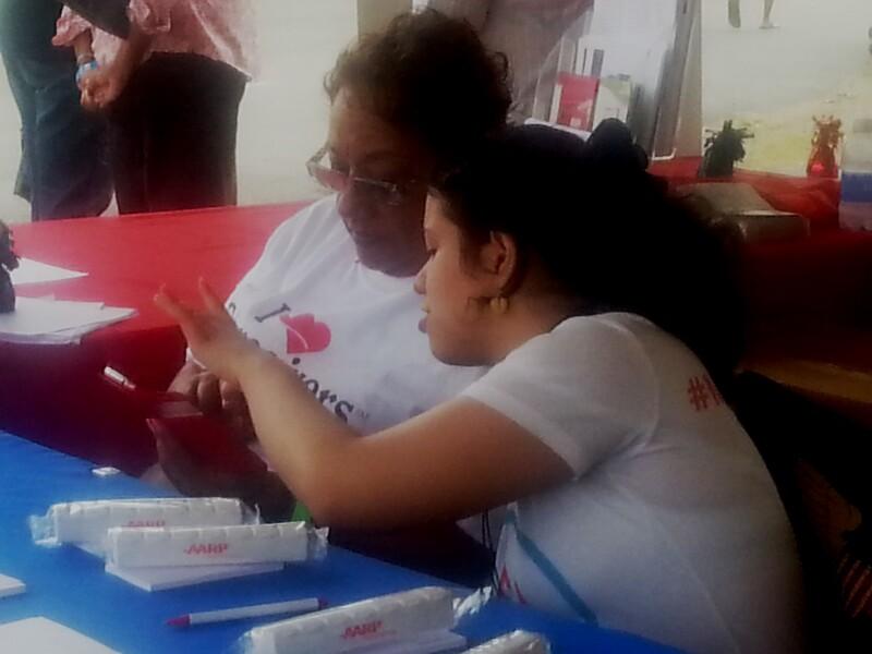 Mentor Up Ag Fair Pic Luz & Jeanine Less Filmy