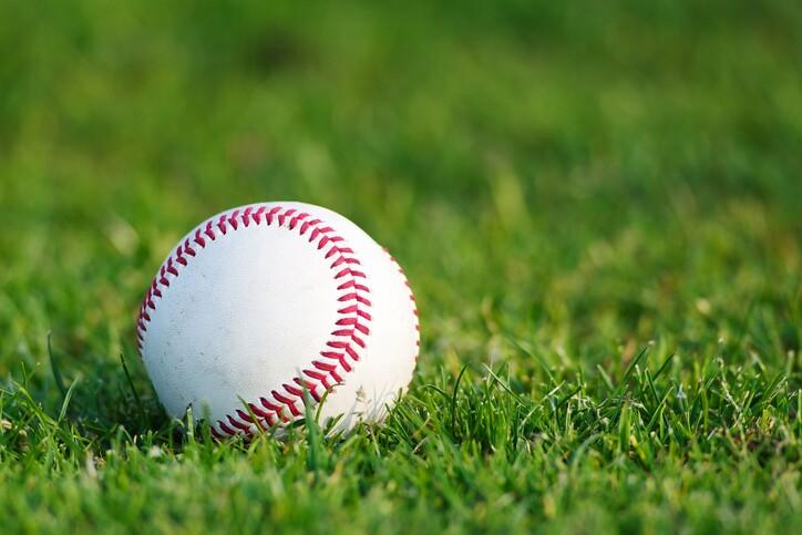 White used baseball
