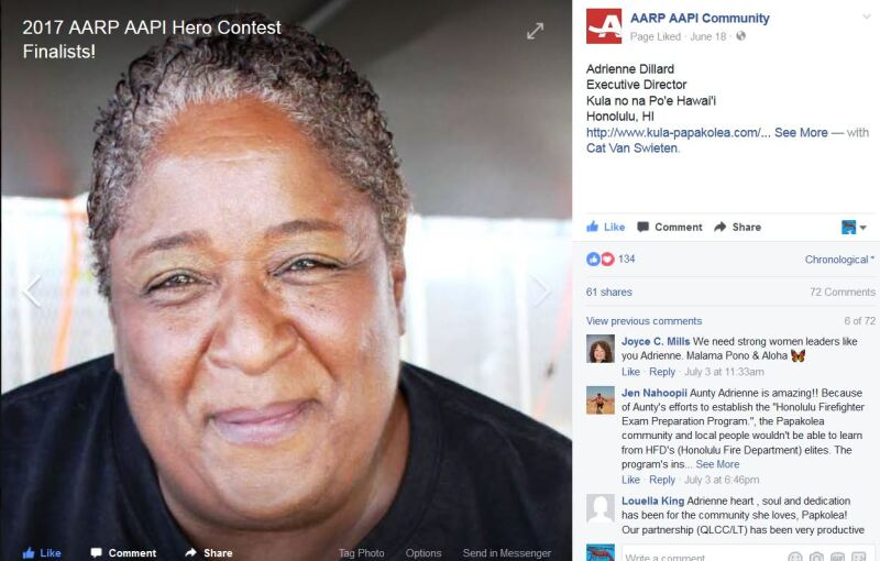 AARP AAPI page