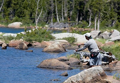 Fishing in WY