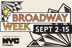 Broadway Week logo