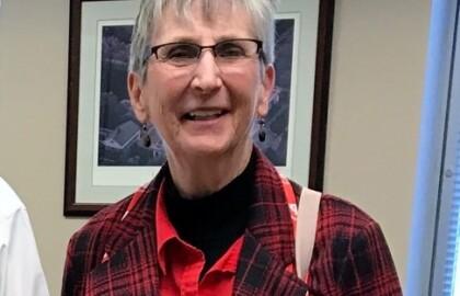 Volunteer Spotlight: Suzanne Franklin