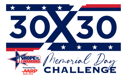 AARPNY Presents: Hope For The Warriors 30x30 Challenge