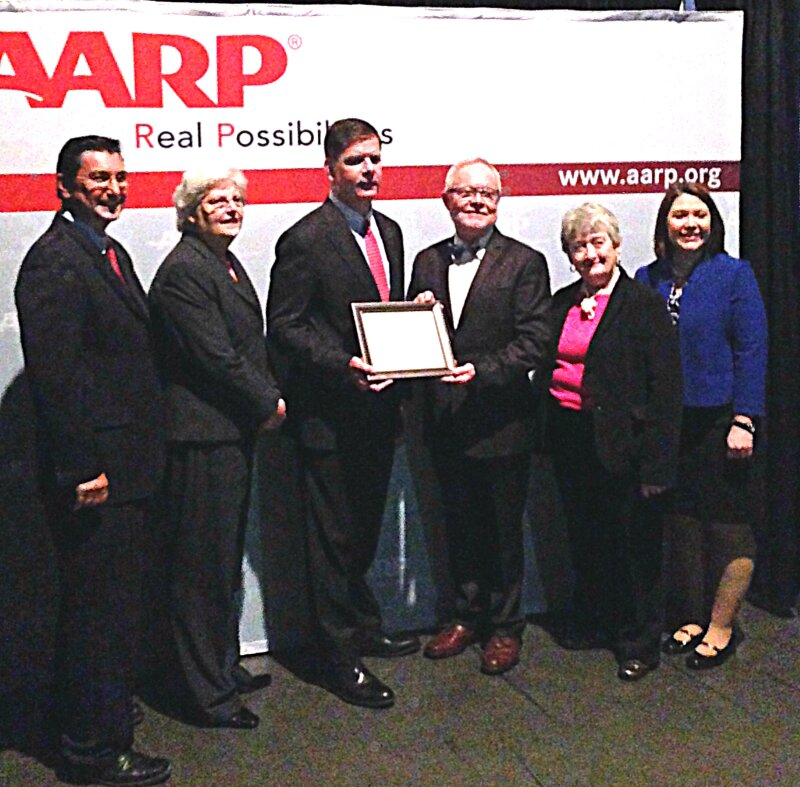 Certificate to Mayor Walsh