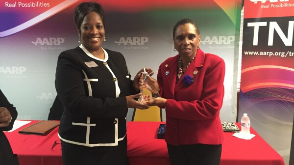 AARP TN presents 2015 Andrus Award