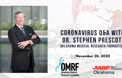 Coronavirus Q&A with Dr. Stephen Prescott: November 30 Update