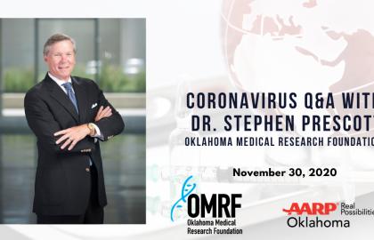 Coronavirus Q&A with Dr. Stephen Prescott: November 30 Update