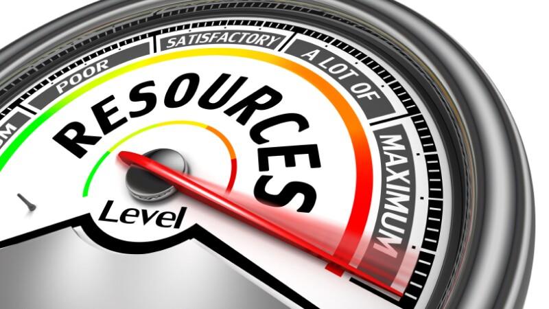 resources conceptual meter